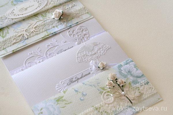 Конверты ручной работы на свадьбу